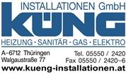 Küng Installationen GmbH - Heizung Sanitär Gas