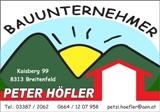 Peter Höfler -  Bauunternehmer
