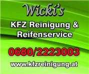Gerhard Brauner -  Wicki's KFZ-Reinigung & Reifenservice