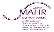 Werner Mahr - KFZ-Prüftechnik
