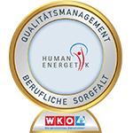Qualitätsmanagement Berufliche Sorgfalt Humanenergetik