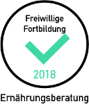 Qualitätszertifikat Fortbildung – Ernährungsberatung 2018