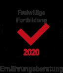 Qualitätszertifikat Fortbildung - Ernährungsberatung 2020